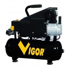 COMPRESSORE VIGOR 220V VCA9L 1CIL/DIR 1,5HP 9 L