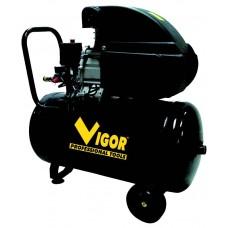 COMPRESSORE VIGOR 230V VCA-50L 1CIL/DIR 2HP 50 LITRI
