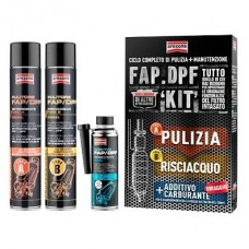 Kit pulizia filtri DPF/FAP (pistola +6 lt cleaner)